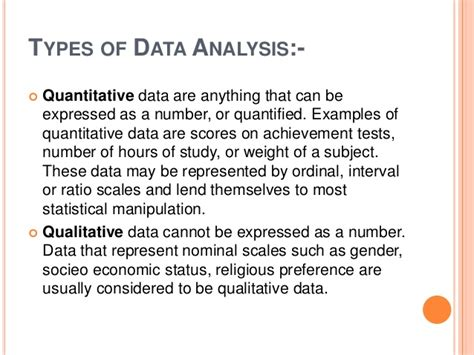 how to write a data analysis for a research paper data analysis