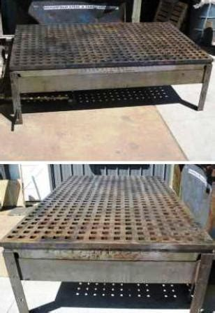 welding table for sale craigslist welding table plans