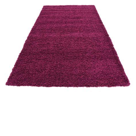 fluffy purple rug purple shaggy contemporary rug soft warm modern plain carpet fluffy ebay