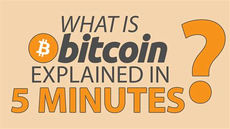 bitcoin what is it what is bitcoin bitcoin explained simply steemit
