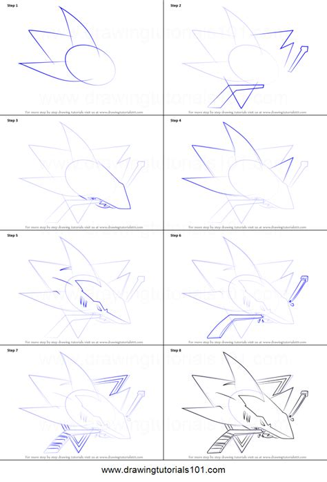 how to draw san jose sharks logo printable step by step
