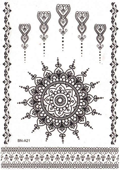 mandala temporary tattoo best 25 lotus mandala ideas on lotus