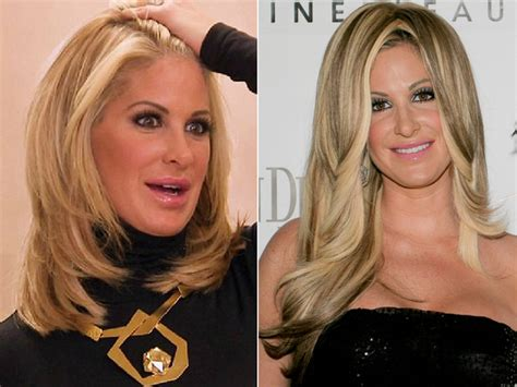 what kind of wig does kim zolciak wear celebrities without weaves hair tohair