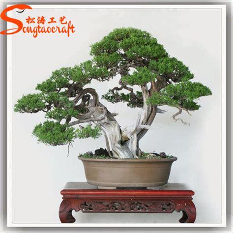 natural fake plastic artificial banyan tree bonsai plants