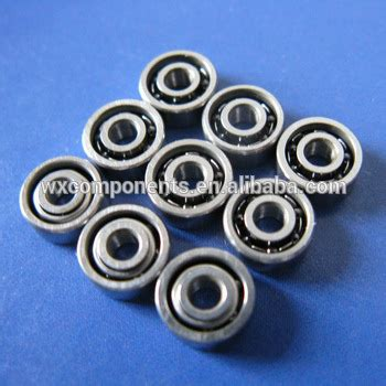 4pcs Bearing 3x6x2 5 Mm Metal Sealed smr63 bearings 3x6x2 mm open type stainless steel bearings ddl 630 buy smr63 bearings