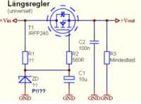 bipolar transistor vorwiderstand 220 berspannungsschutzschaltung elektronik hifi forum