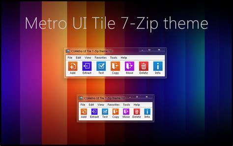 themes zip metro ui tile 7 zip theme by alexgal23 on deviantart