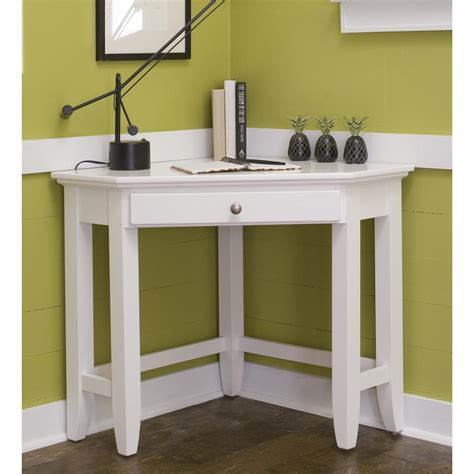 Corner Vanity Desk by Home Styles The Naples Corner Desk Table 183839
