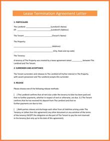 Rental Termination Letter To Tenant by 8 Termination Of Rental Agreement Letter By Tenant Purchase Agreement