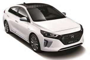 Hyundai In Hyundai Ioniq Officially Revealed All New Dedicated