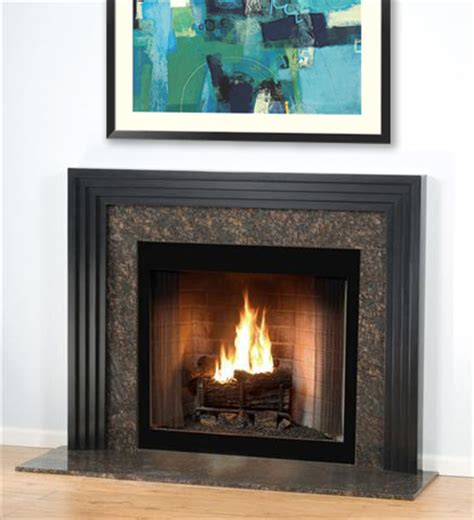 stratum contemporary modern mantel cascading tiered