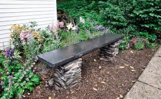Rock Benches For Garden 23 Best Diy Garden Ideas And Designs With Rocks For 2017