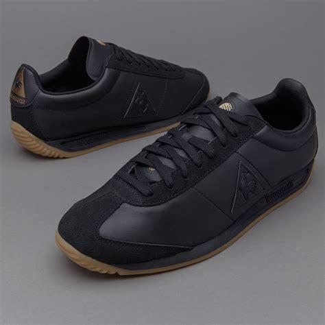 mens shoes le coq sportif quartz lea black shoes