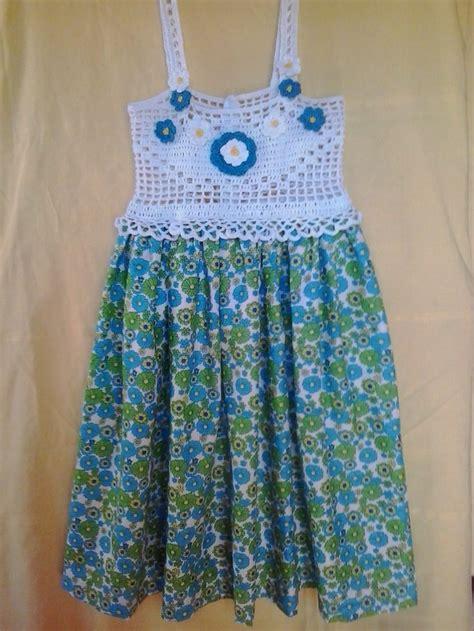 vestido nia crochet 17 best images about vestidos crochet y tela on pinterest