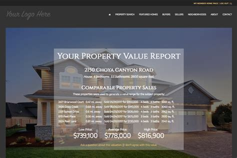 real estate property values leads