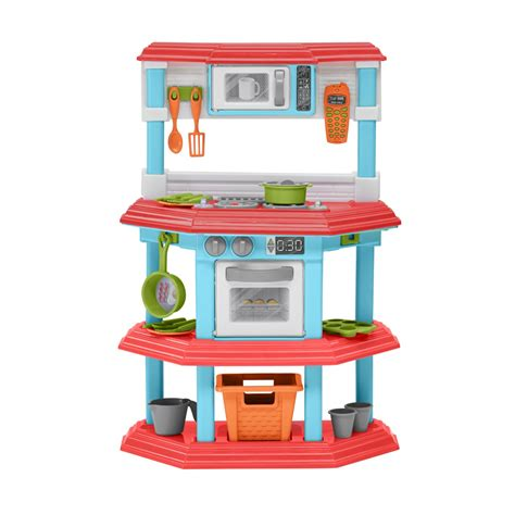 Plastic Kitchen Set by Kitchen Playset Pretend Play Set Cooking Food