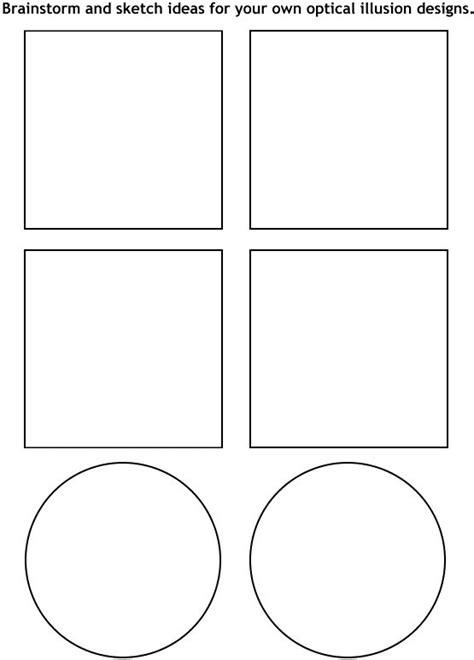printable optical illusions lesson plans 13 best images of op art lesson worksheet op art lesson