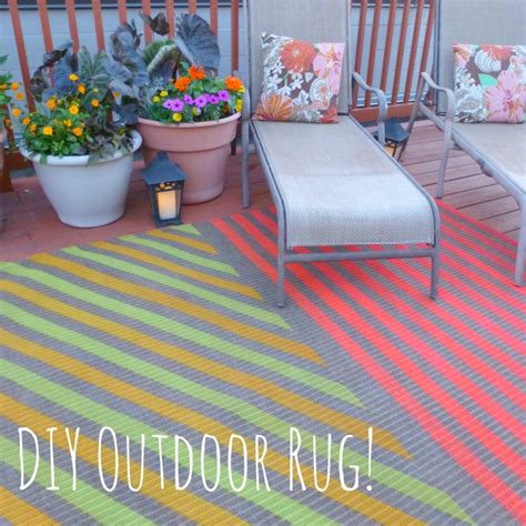 diy outdoor rug my insanely awesome diy outdoor rug design improvised