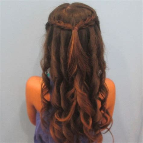 special occasion hairstyles half up half down half up and down with soft curls special occasion