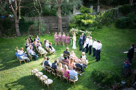 intimate backyard wedding 25 best ideas about small backyard weddings on pinterest small outdoor weddings