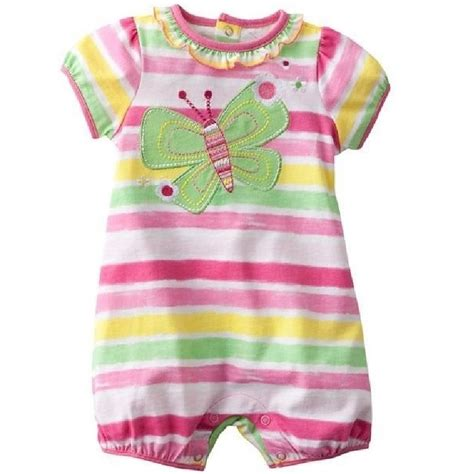 Romper Baby Cowo Jumping Beans Biru ᑐbutterfly baby romper jumping beans beans stripe newborn ᗚ clothes clothes baby