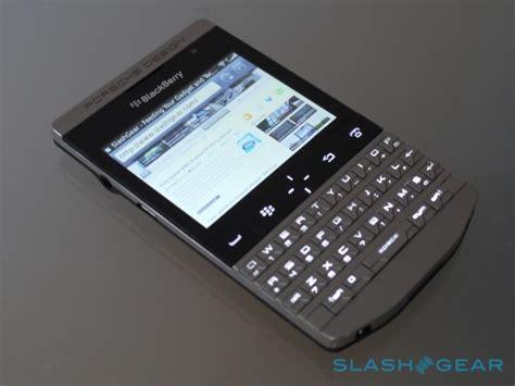 p9981 porsche design blackberry porsche design p 9981 review slashgear