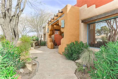 style of home adobe adobe style home offers slice of southwest las vegas