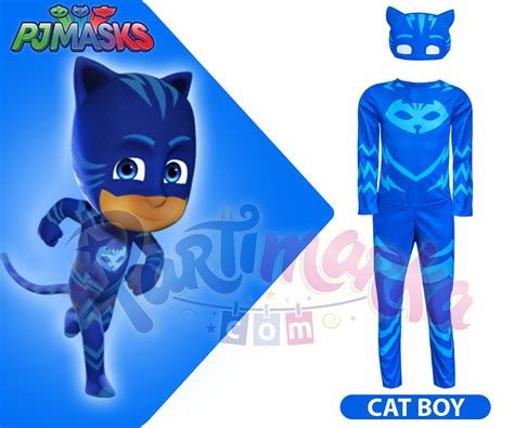 Jubah Kostum Pj Mask Catboy pj masks catboy 199 ocuk kost 252 m 252 ve tv kost 252 mleri