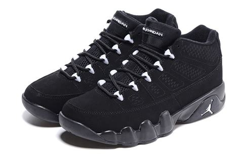 imagenes de jordan retro 9 2016 air jordan 9 low anthracite all black shoes