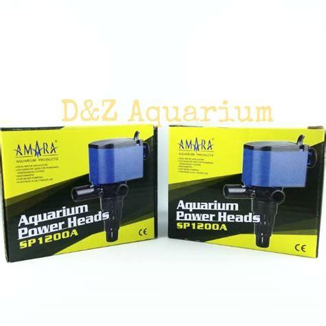 Pompa Aquarium Merk Amara pompa air aquarium amara sp 1200a power amara sp