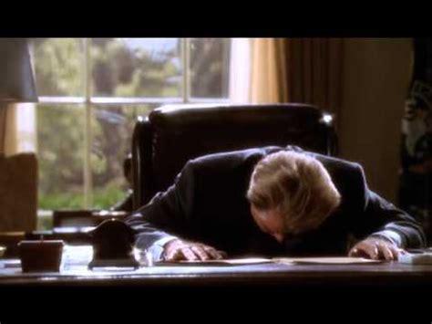 president bartlet s headdesk moment