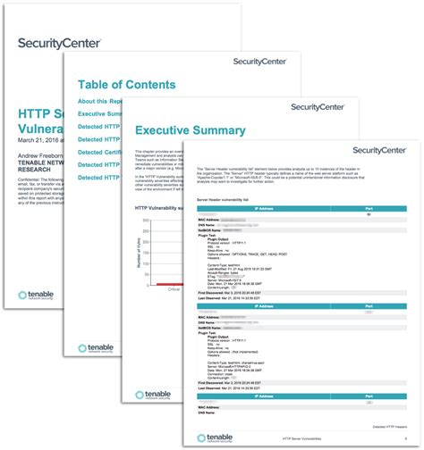 network security report template securitycenter report templates tenable network security