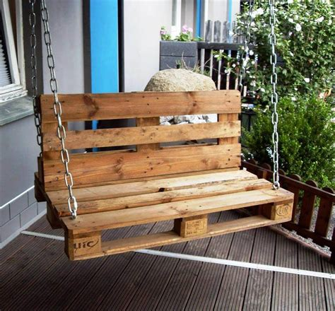 diy pallet swing 20 pallet ideas you can diy for your home 99 pallets
