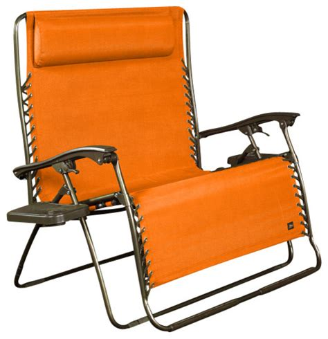 Person Reclining by 2 Person Gravity Free Recliner Terra Cotta
