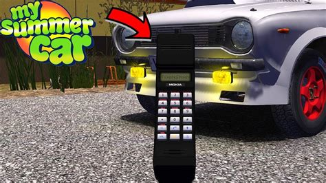 mobile from my phone mobile phone mokia townsman my summer car 158 mod