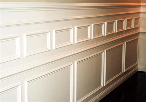 Wainscoting Trim Molding custom wainscoting crown molding and trim in wilmington delaware modern living room