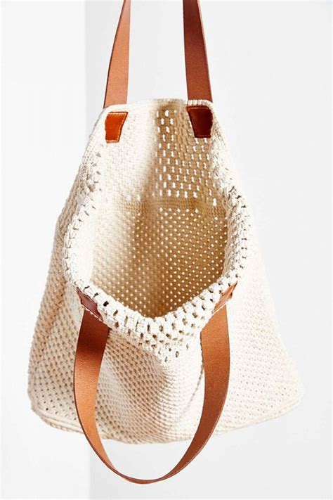 Macrame Bags Tutorials - diy macrame bag ideas diy ideas tips