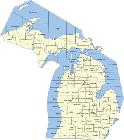 michigan county map with cities lower michigan map with cities quotes