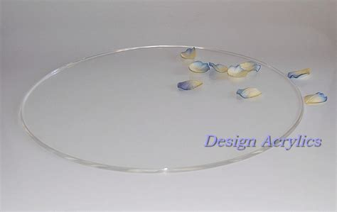Wedding Cake Plates 20 quot acrylic wedding cake plate board stand clear ebay