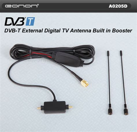 a0205d car dvb t digital tv external antenna booster n8 ebay