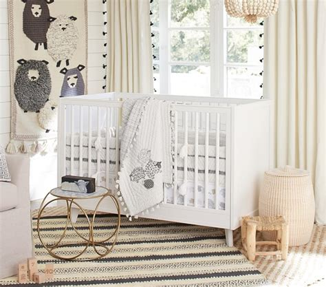 Sheep Baby Bedding by Organic Sleepy Sheep Baby Bedding Pottery Barn
