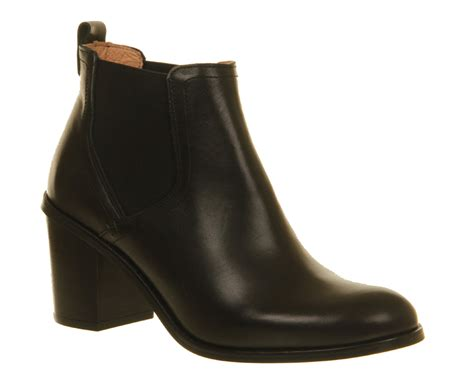 chelsea boot womens womens office clementine chelsea boot black leather boots
