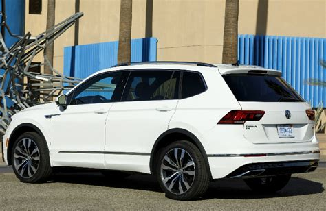volkswagen tiguan white 2018 2018 vw tiguan r line appearance package feature highlights