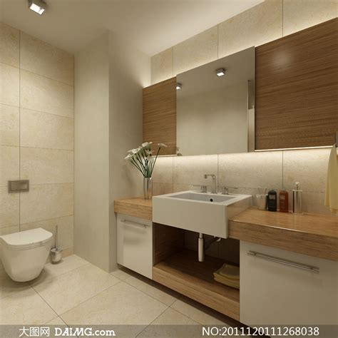 Modern Bathroom Tiles Perth 洗手间室内装修效果图高清摄影图片 大图网设计素材下载