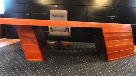 Handmade Furniture For Sale - handmade modern ceo heirloom desk knoll furniture for