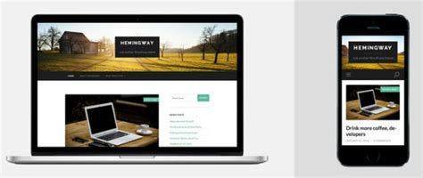 theme wordpress hemingway thanks anders nor 233 n develops picture perfect and free