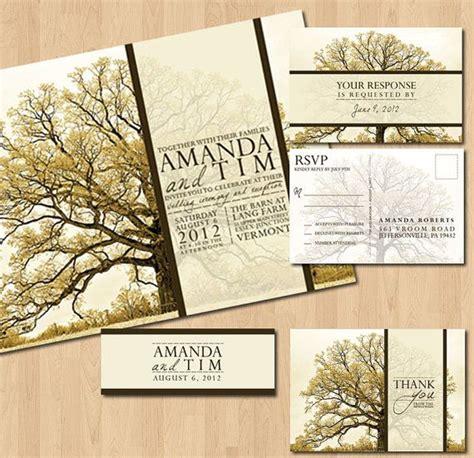 wedding invitations tree theme 17 best ideas about tree themed wedding on