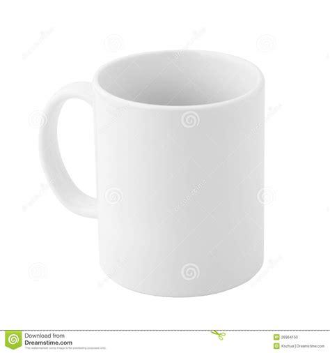 Plain Porcelain Mug Stock Photo   Image: 26964150