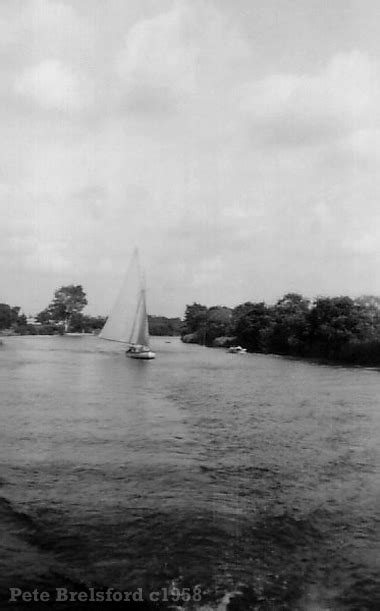 sailing dinghy hire norfolk broads 1950s photo gallery page 9
