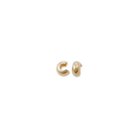 crimp bead covers crimp bead covers gold filled crimp covers 3mm